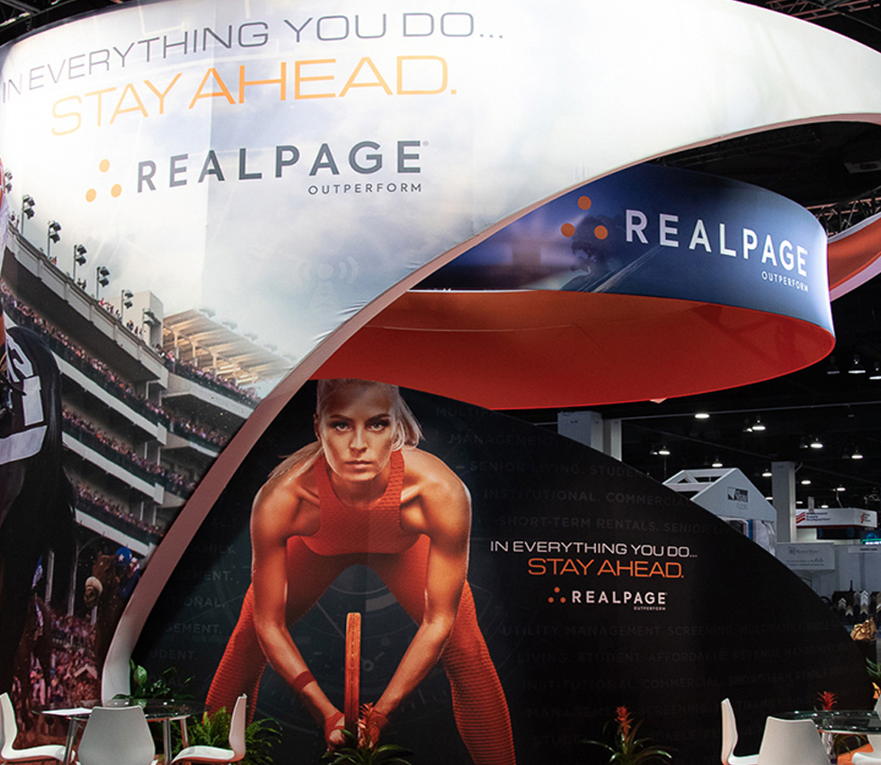 RealPage Trade Show Exhibit